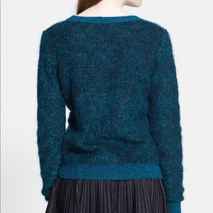 A.L.C. Adina Metallic Mohair Sweater